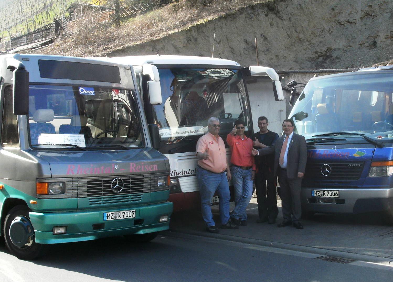 Unsere Busse und Busfahrer 2011