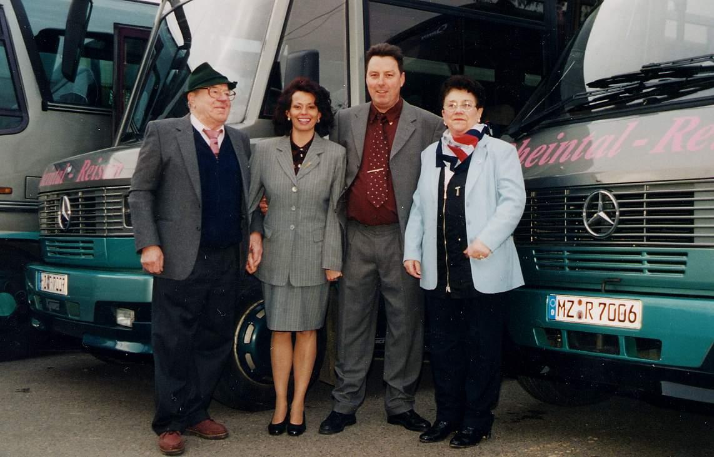 Dirk und Kornelia Büttner zusammen mir Inge und Erich Schmidt