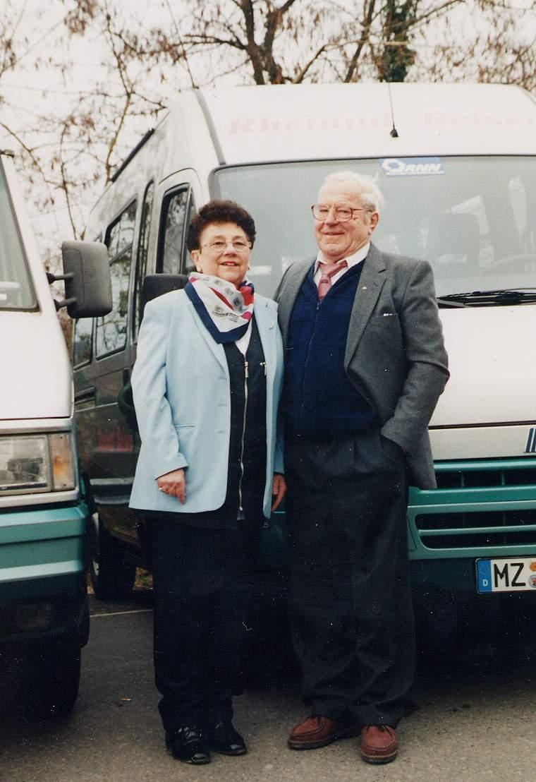 Inge und Erich Schmidt 2001